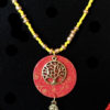 collier rouge jaune bleu 1